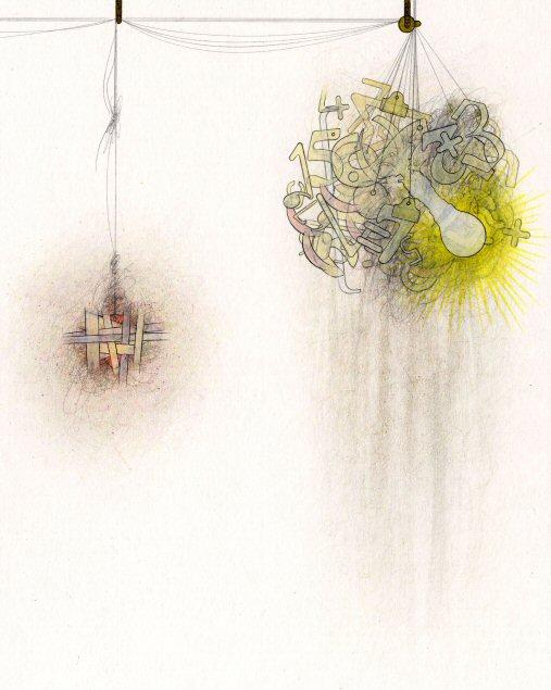 Untitled (detail) Pencil on paper 42cm x 30cm © 2009 Tammy Lu